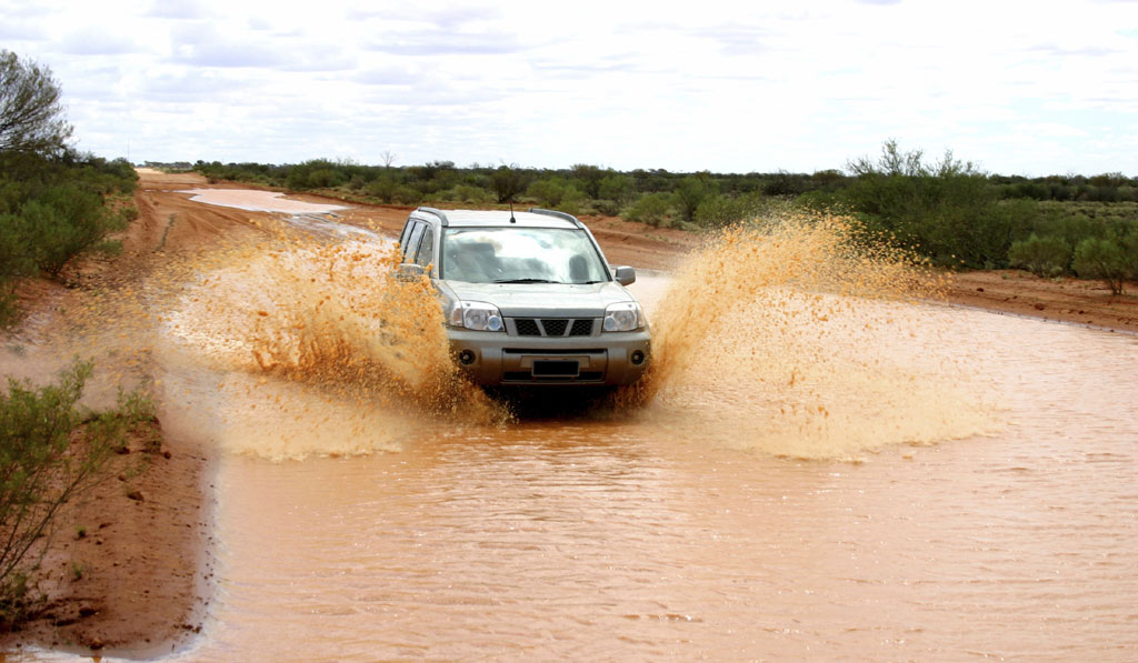 4WD In Water