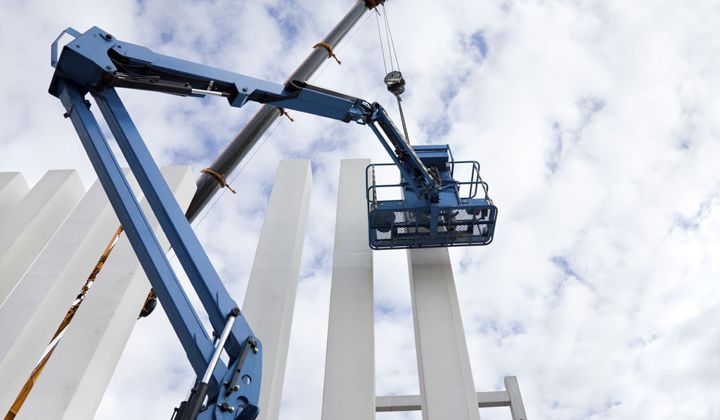 Boom Elevator Crane